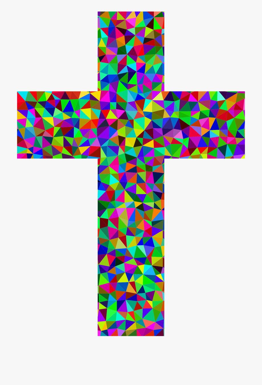Colored christian cross clipart free vector royalty free Recursos Religion Catlica Fichas - Colorful Cross Png #797705 - Free ... vector royalty free