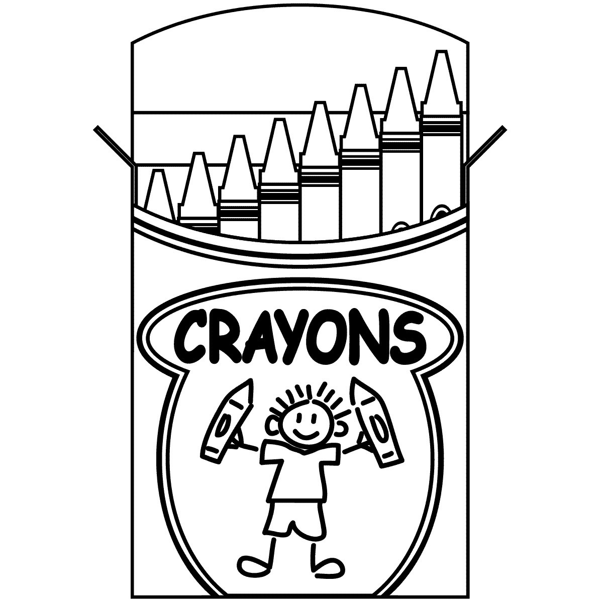 Colored pencil black and white clipart clip art library download Colored Pencils Clipart Black And White | Letters Format within ... clip art library download