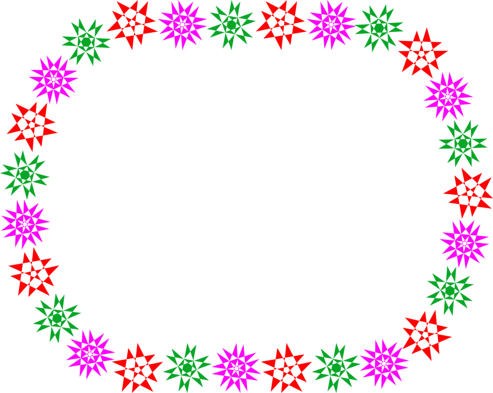 Colored snowflake border clipart jpg freeuse library Border | Free Stock Photo | Illustration of a blank frame border of ... jpg freeuse library