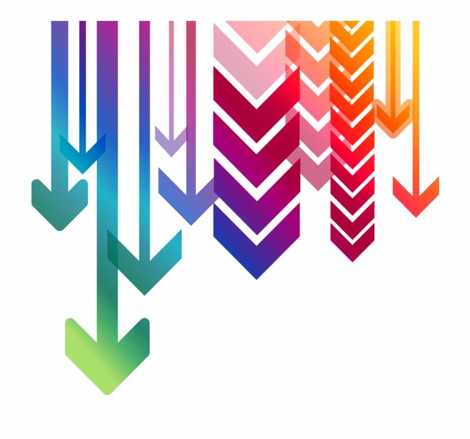 Colorful arrow clipart banner freeuse library Arrow Down Png Down Arrows Png - Colorful Arrows Png Free PNG Images ... banner freeuse library