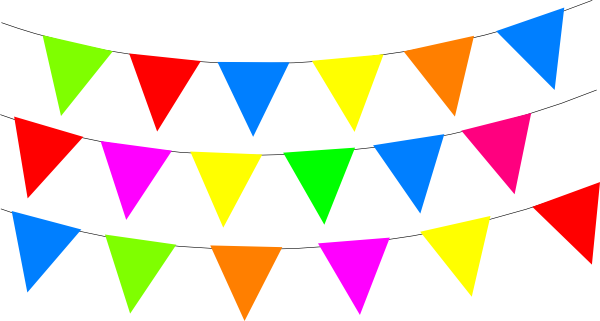 Colorful bunting banner clipart png transparent clker svg library stock Free Bunting Border Cliparts, Download Free Clip Art, Free Clip Art ... svg library stock