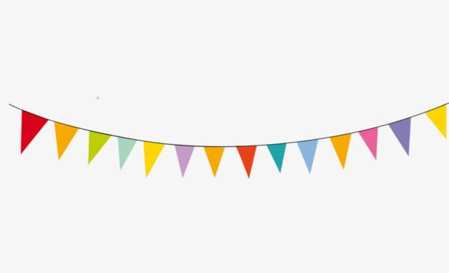 Colorful bunting banner clipart png transparent clker png black and white stock Download for free 10 PNG Flags clipart banner Images With ... png black and white stock