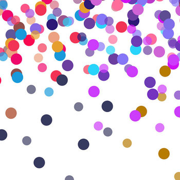 Colorful confetti clipart clipart freeuse library Colorful Confetti - Celebration Clipart clipart freeuse library