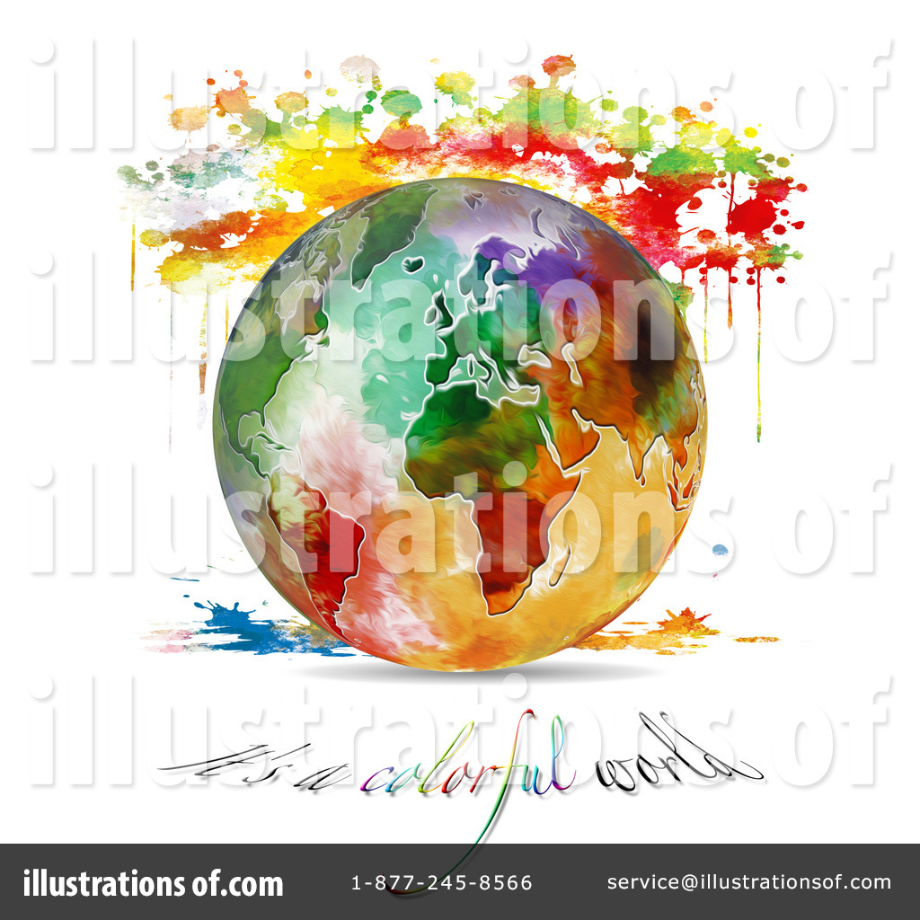 Colorful earth clipart clipart Earth Clipart #1314266 - Illustration by MacX clipart