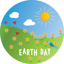 Colorful earth clipart clipart freeuse library Earth Day Clip Art [164+] For Kids of all Ages - April 2019 Collection clipart freeuse library