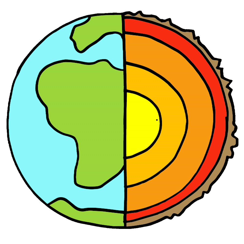 Colorful earth clipart jpg Layers of the earth clipart wikiclipart - ClipartPost jpg