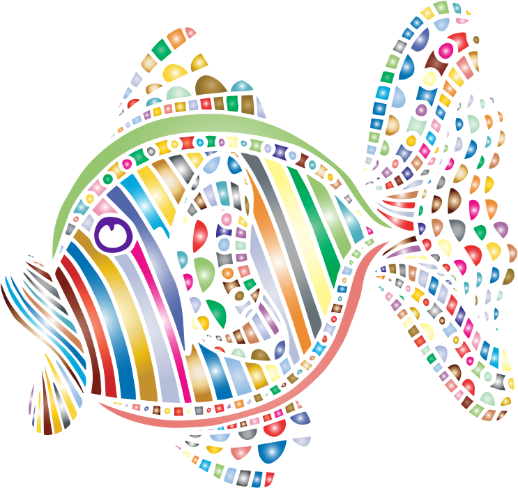 Colorful fish clipart picture royalty free download Clipart - Abstract Colorful Fish 4 picture royalty free download