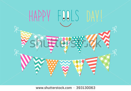 Colorful fool clipart cute image library Cute April Fools Day Background Festive Stock Vector 393130048 ... image library