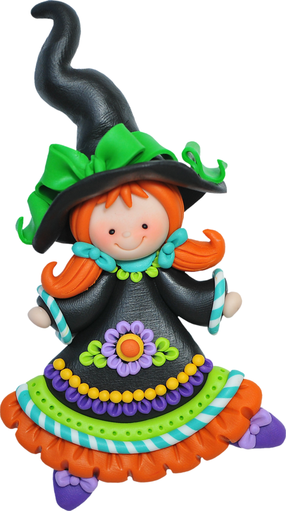 Colorful halloween clipart jpg library library SORRY, no information as to product used... | CLAY~PORCELAIN~SUGAR ... jpg library library