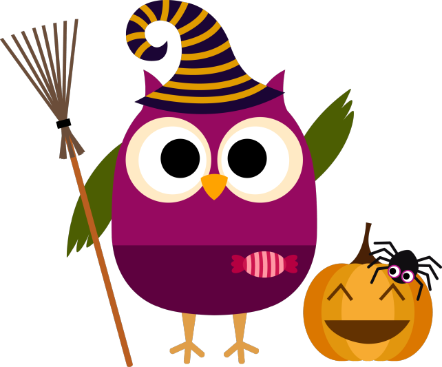 Spirit image clipart halloween svg royalty free Búho halloween | Halloween Pumpkin... | Pinterest | Owl, Clip art ... svg royalty free