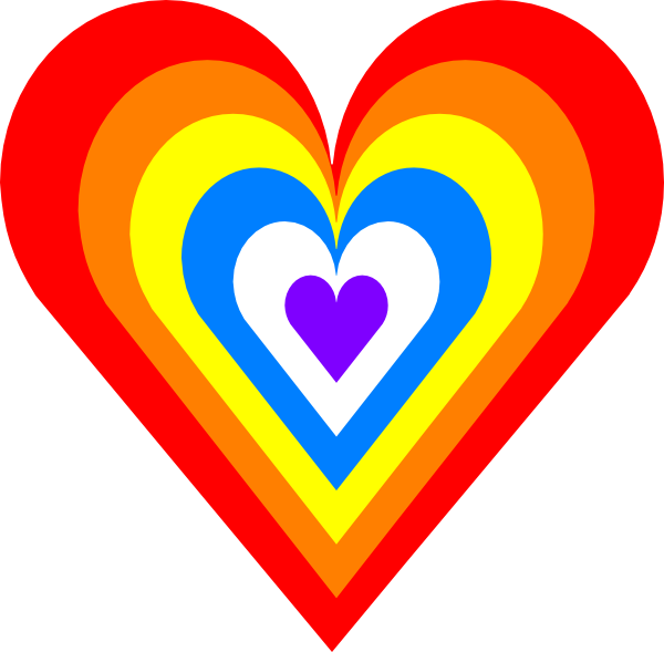 Read heart clipart