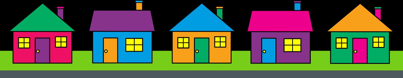 Neighborhood house clipart jpg free stock The Settlement on Wilmington jpg free stock
