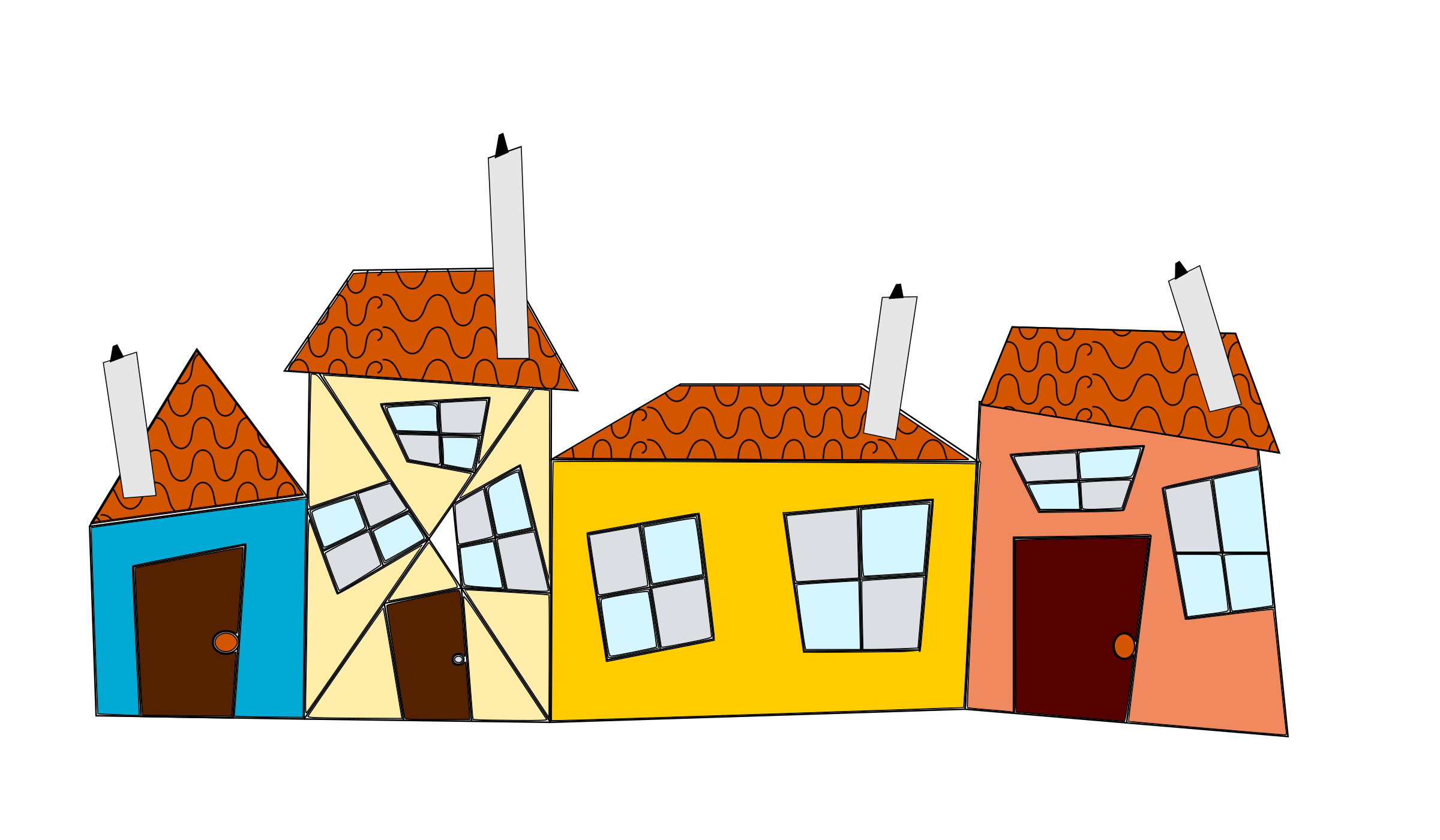 Crazy house clipart svg library library Crazy Houses Icons PNG - Free PNG and Icons Downloads svg library library