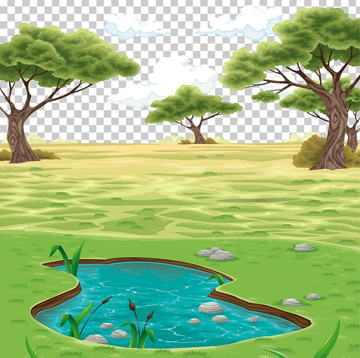 Colorful landscape clipart png black and white Landscape Drawing PNG, Clipart, Caricature, Cartoon, Cloud, Color ... png black and white