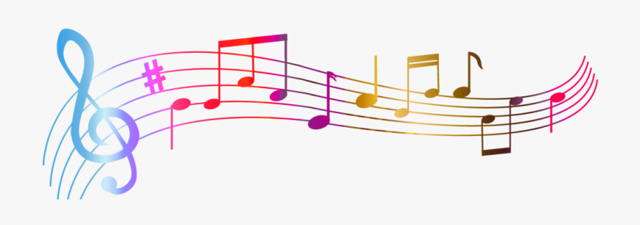 Colorful music notes clipart no background image library stock Ottava Sinfonia Di Beethoven, Op - Colorful Music Notes Transparent ... image library stock