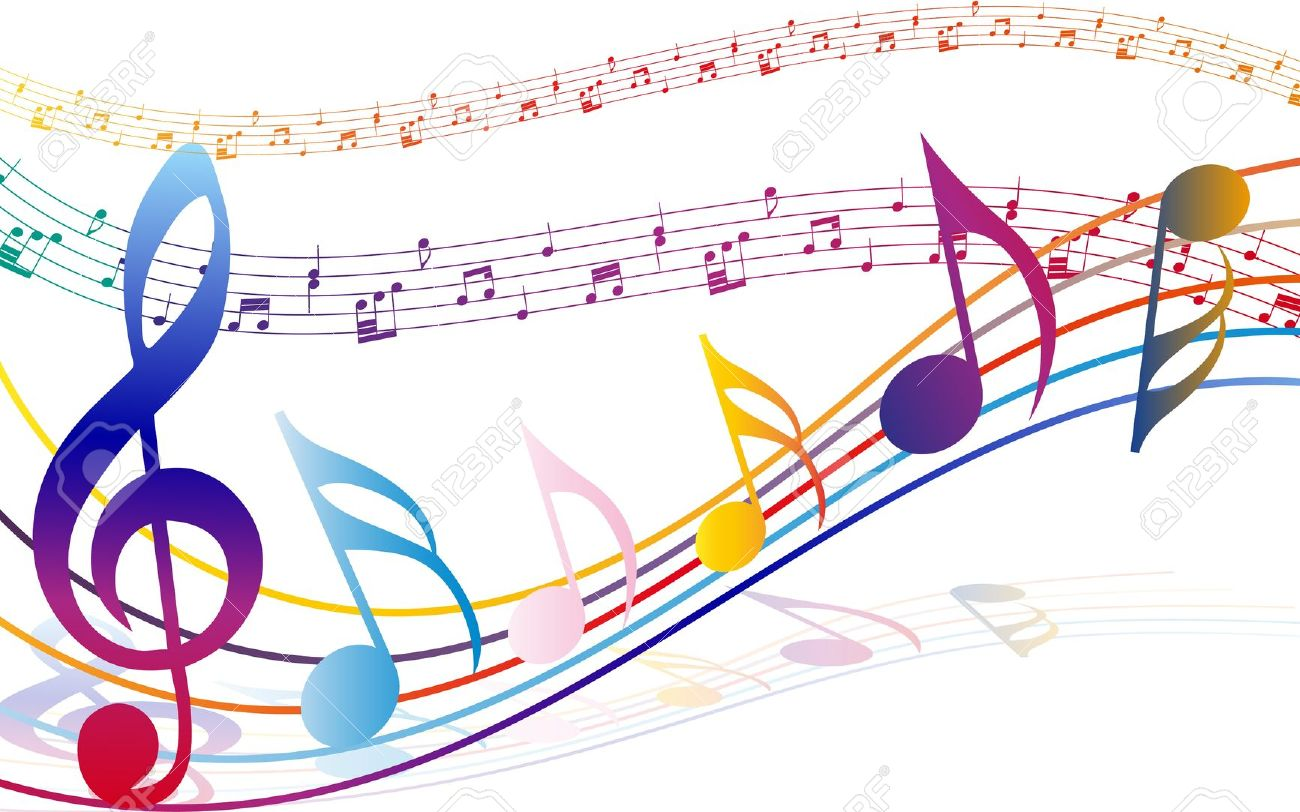 Colorful music notes clipart no background banner transparent download Music Note Clipart Transparent Background   Free download best Music ... banner transparent download