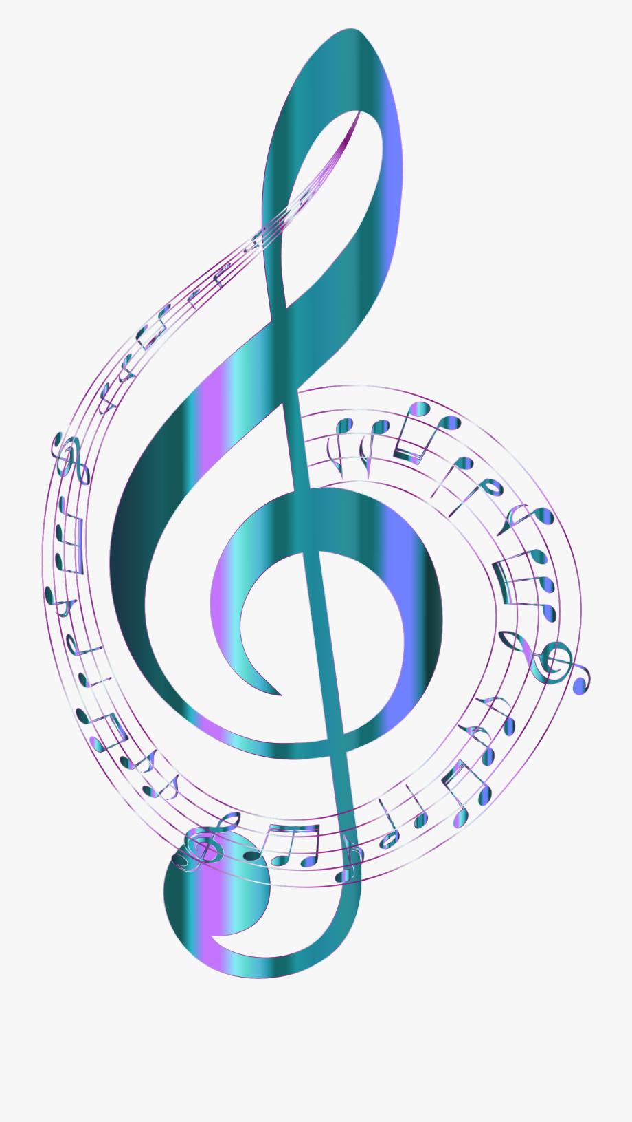 Colorful music notes clipart no background vector royalty free Notes Clipart Pdf - Transparent Background Music Notes Png #3111 ... vector royalty free