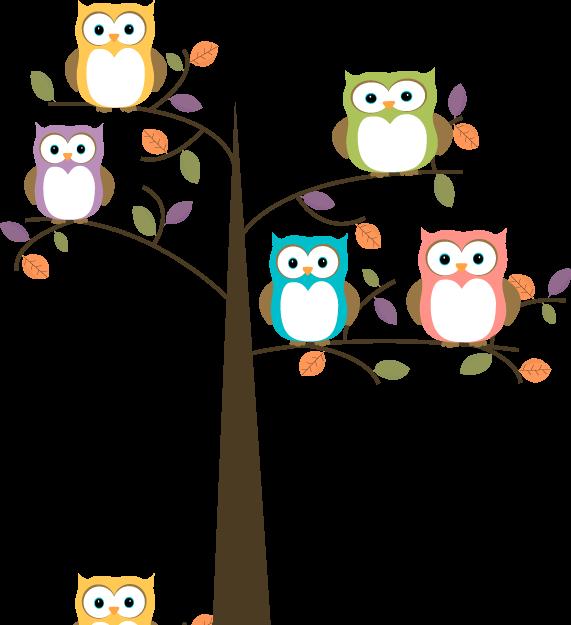 Clip art images colorful. Cute school owl clipart