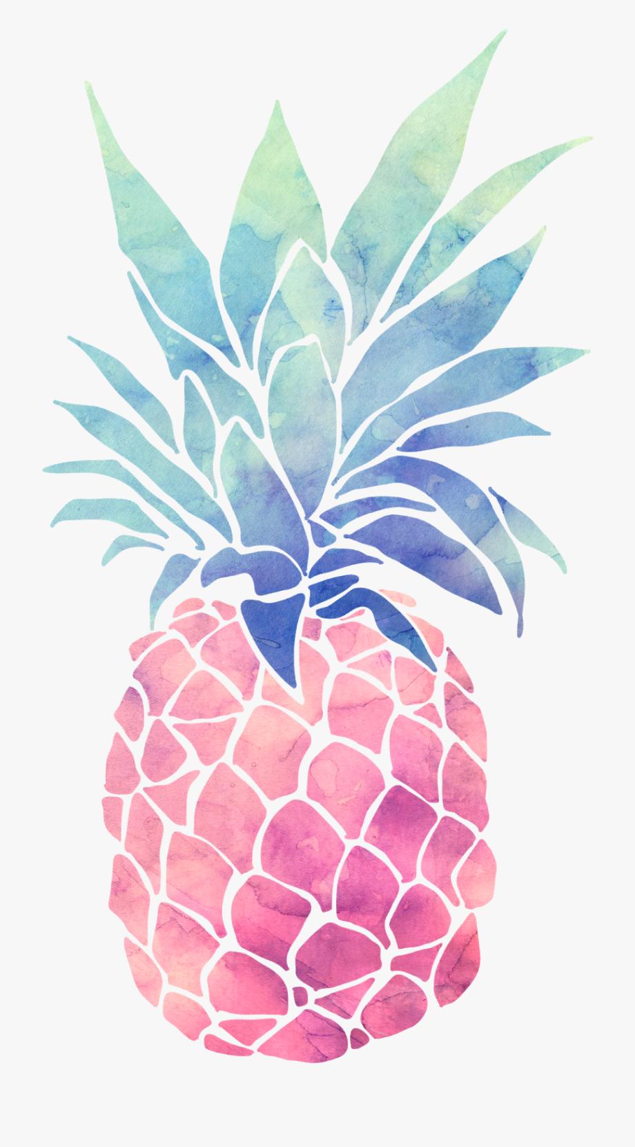 Colorful pineapple clipart jpg royalty free Pineapple Color - Pineapple Themed Birthday Invitations #905523 ... jpg royalty free