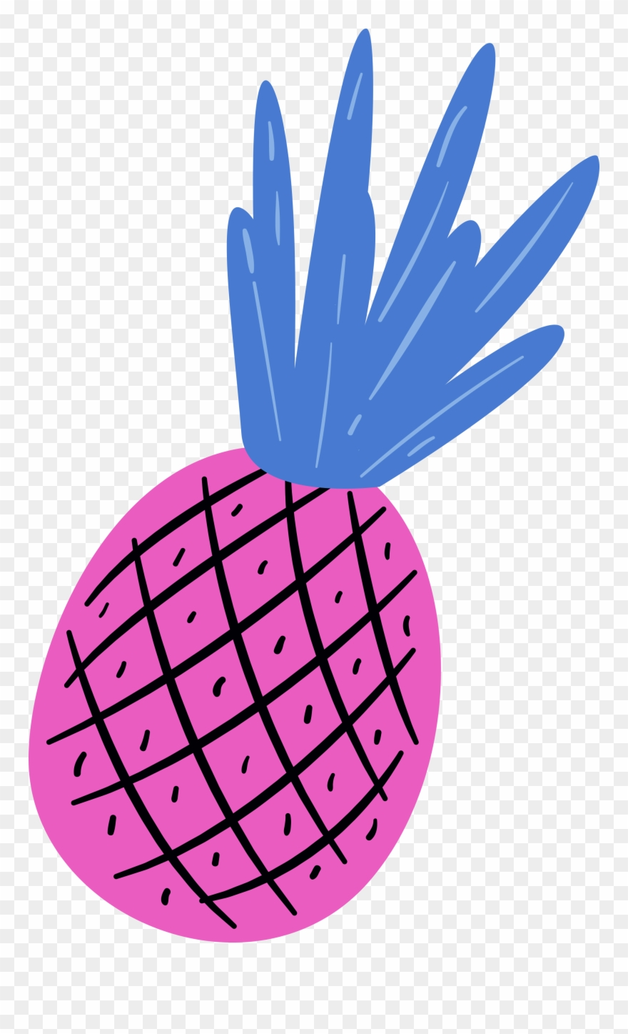 Colorful pineapple clipart graphic transparent leave - Free Colorful Pineapple Clipart Png Transparent Png (#51752 ... graphic transparent