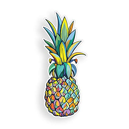 Colorful pineapple clipart banner free download Colorful Pineapple Sticker Multi Color Car Truck Window Bumper Custom Fully  Printed Colorful Vinyl Decal Graphic banner free download