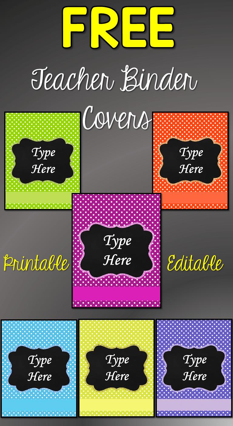 Colorful science clipart for a binder label image transparent stock Free Printable Teacher Binder Covers > Nastaran\'s Resources image transparent stock