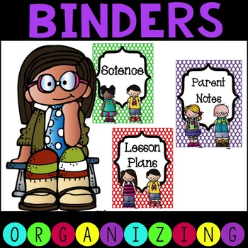 Colorful science clipart for a binder label picture transparent stock Binder Spine Template Worksheets & Teaching Resources | TpT picture transparent stock