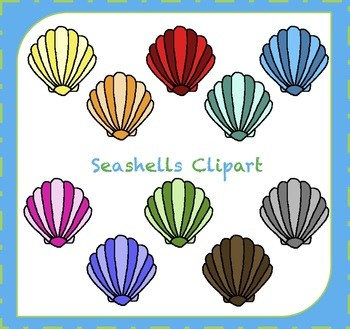 Colorful seashell clipart clip art royalty free Colored seashells clipart 7 » Clipart Portal clip art royalty free