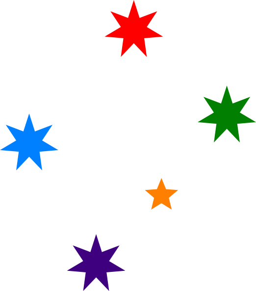 Colorful star clipart svg black and white library Star Clip Art at Clker.com - vector clip art online, royalty free ... svg black and white library