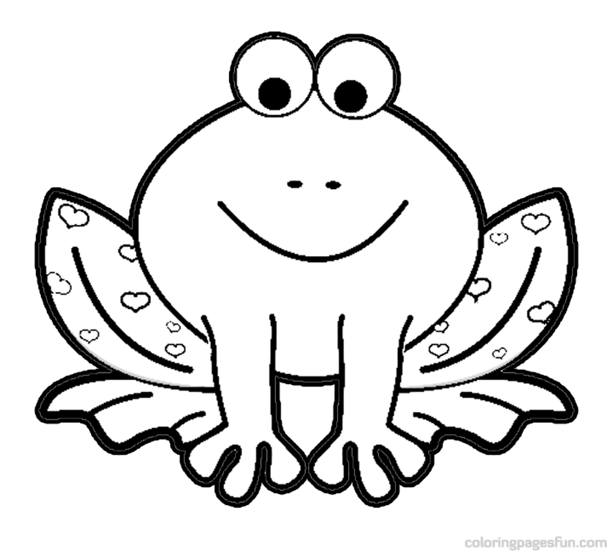 Coloring pages for kids clipart clip freeuse download Frog Coloring Pages | Clipart Panda - Free Clipart Images | Baby ... clip freeuse download