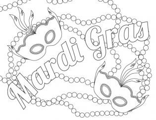 Coloring pages parade floats black white clipart clipart freeuse library Mardi Gras Mask Coloring Page Fresh Best Mardi Gras Coloring Sheets ... clipart freeuse library