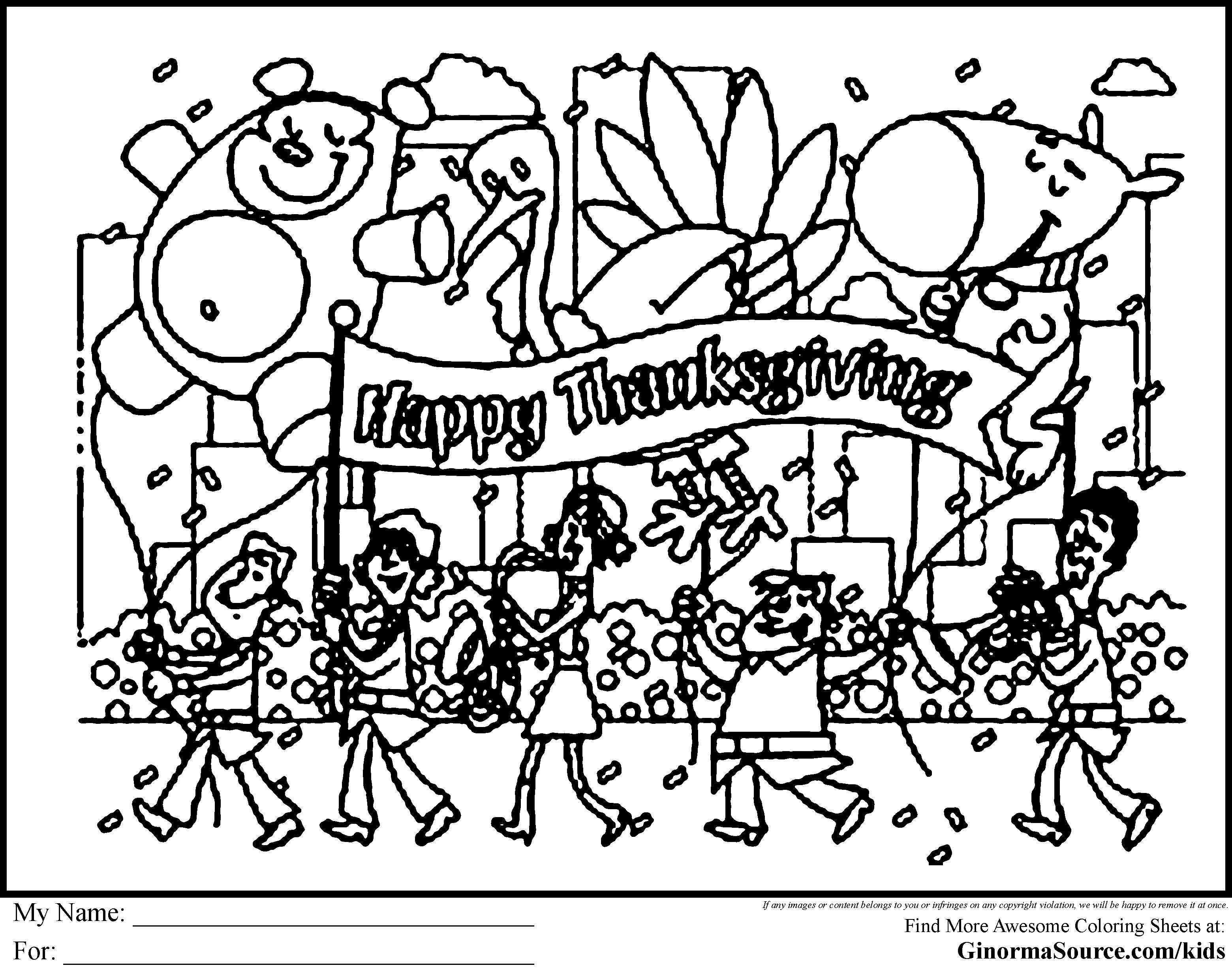Coloring pages parade floats black white clipart transparent Christmas parade black and white clipart - Clip Art Library transparent