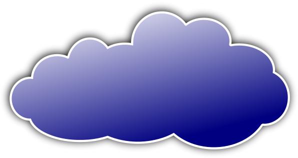 Colour cloud clipart clip black and white color cloud blue - /weather/clouds/color_clouds/color_cloud_blue.png ... clip black and white