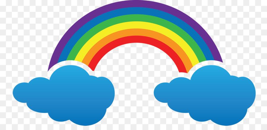 Colour cloud clipart svg free stock Rain Cloud Clipart png download - 2500*1203 - Free Transparent ... svg free stock
