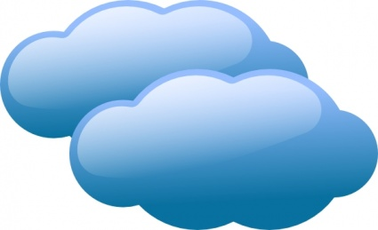 Colour cloud clipart transparent download Free download of Cloud vector graphics and illustrations transparent download