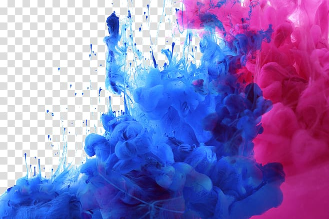 Colour smoke bomb clipart clip art free Blue and pink smoke bombs illustration, Watercolor painting Acrylic ... clip art free