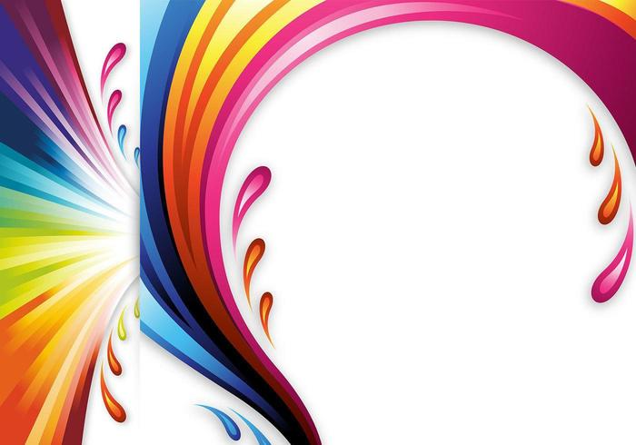 Colour splash vector clipart vector freeuse download Color Splash Vector Headers and Wallpapers - Download Free Vectors ... vector freeuse download