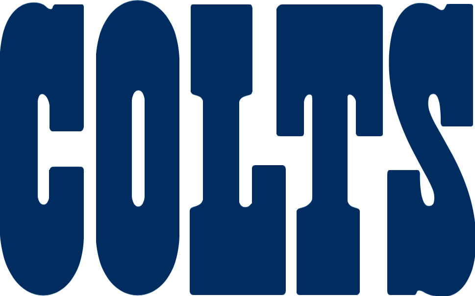 Football word clipart image black and white download File:Indianapolis Colts wordmark.png - Wikimedia Commons image black and white download