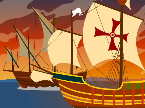 Columbian exchange clipart banner freeuse download Columbian Exchange - BrainPOP banner freeuse download