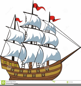 Columbus ships clipart jpg freeuse stock Clipart Christopher Columbus Ship | Free Images at Clker.com ... jpg freeuse stock