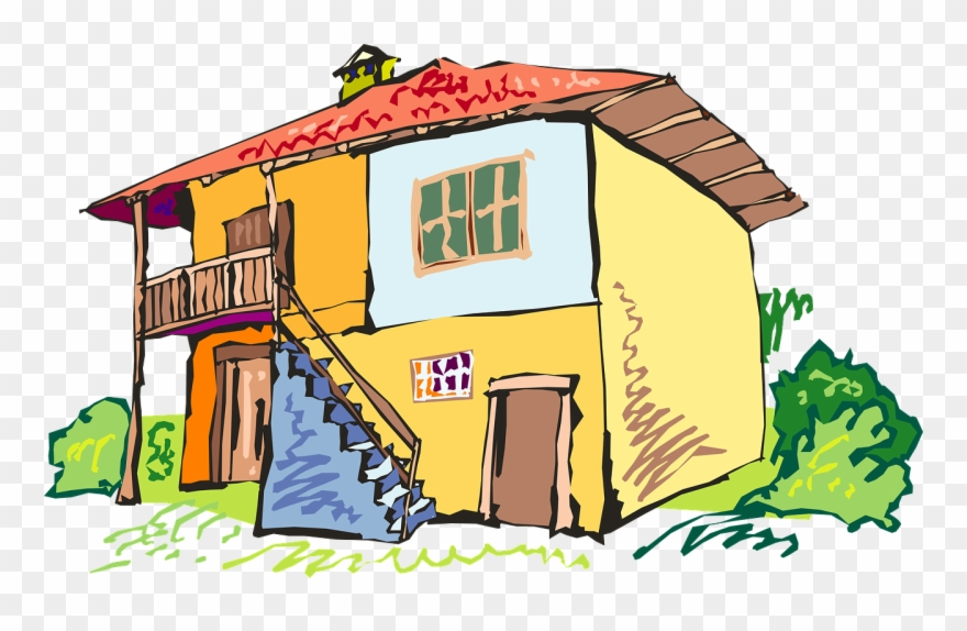 Come back home clipart image freeuse stock Back Of A Cartoon House Clipart (#764930) - PinClipart image freeuse stock