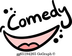 Comedy icon clipart clipart royalty free Comedy Clip Art - Royalty Free - GoGraph clipart royalty free