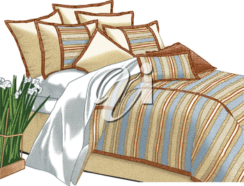 Comforter clipart image free download Comforter clipart images and royalty-free illustrations   iCLIPART.com image free download