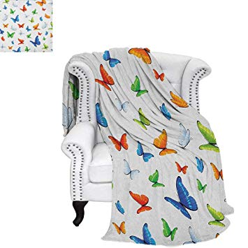 Comforter clipart png black and white stock Amazon.com: Butterflies Summer Quilt Comforter Butterflies Animal ... png black and white stock