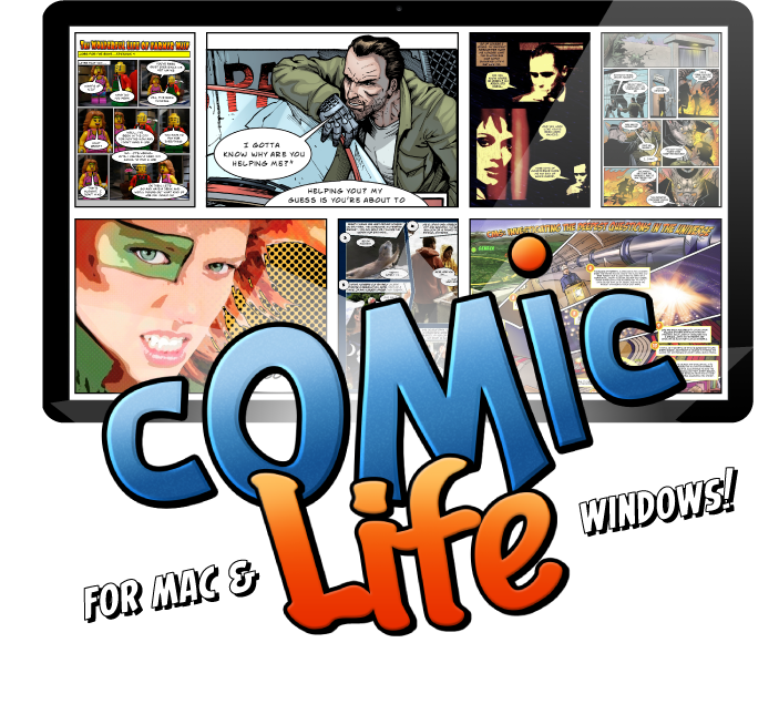 Free comic book clipart graphic library download Comic Life 3 for Mac & Windows | plasq.com graphic library download