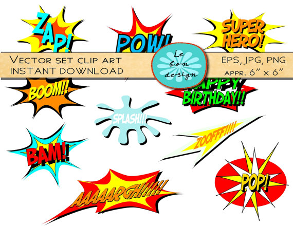 Comic book character clipart image transparent stock Comic Book Clip Art & Comic Book Clip Art Clip Art Images ... image transparent stock