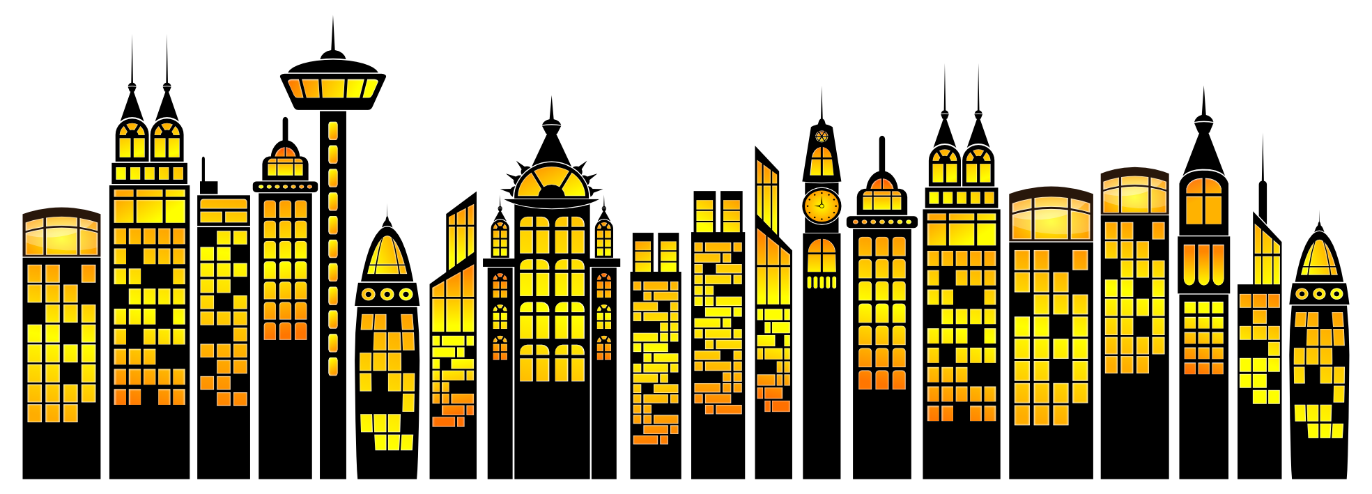 Comic book cityscape clipart picture freeuse Images of City Building Clipart - #SpaceHero picture freeuse