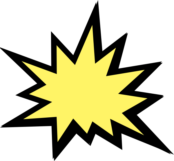 Star blast clipart png library library Comic Explosion Free Clipart png library library
