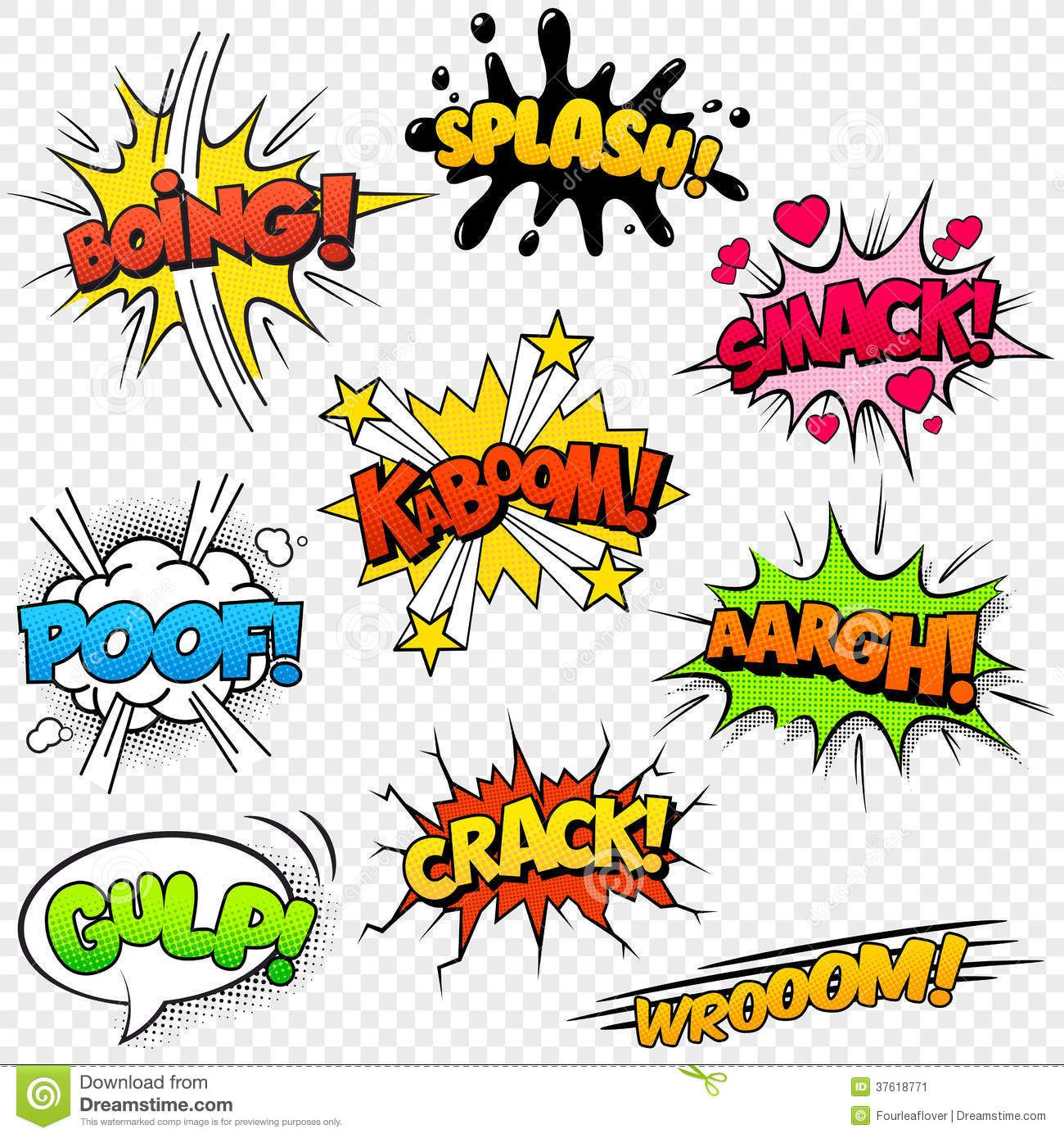 Comic book sounds clipart black and white for kids picture freeuse stock Comic Sound Effects - Download From Over 54 Million High Quality ... picture freeuse stock