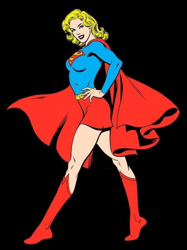 Comic book style lady clipart clip art free stock Supergirl Classic by HeroPix.deviantart.com on @DeviantArt | Super ... clip art free stock